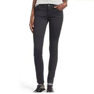 AGolde Washed Black Colette Skinny Jeans